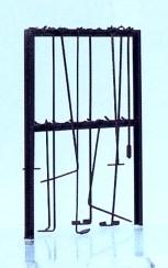 Spur 1 Schürhaken-Gestell - Weinert 2915    günstig bestellen bei Weinert-Bauteile