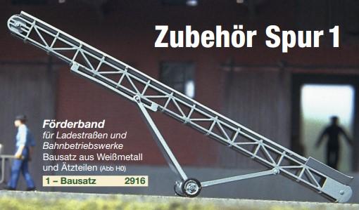 Spur 1 Förderband - Weinert 2916  | günstig bestellen bei Weinert-Bauteile