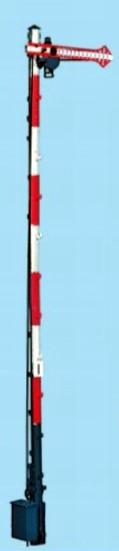 1:87 Bayrisches Einfahrsignal, 10m Mast, 1-flüglig - Weinert 3002  - beleuchtete Ausführung als Bausatz | günstig bestellen bei Weinert-Bauteile