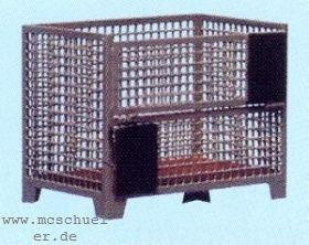 H0 Gitterboxpalette, 2 Stück, Messingätzteile fertig gekantet, Bausatz - Weinert 3203  | günstig bestellen bei Weinert-Bauteile