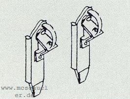 H0 Hemmschuhe für Ep.2-4, 10 Stück, Messingguss- Weinert 3207  | günstig bestellen bei Weinert-Bauteile