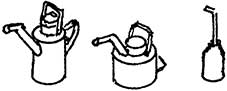 Spur 1 Ölkannen für Dampfloks und BW, 6 Stück - Weinert  | günstig bestellen bei Weinert-Bauteile