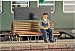 1:87 Bahnhofsdoppelbank, 2 Stück-Weinert 3256  | günstig bestellen bei Weinert-Bauteile
