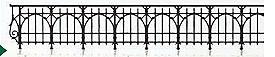 1:87 Geländer für Brücken, L=72cm-Weinert 3264  | günstig bestellen bei Weinert-Bauteile