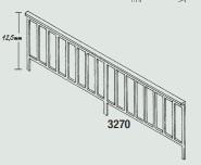 1:87 Geländer für Brücken, 2 Stück-Weinert 3270  | günstig bestellen bei Weinert-Bauteile