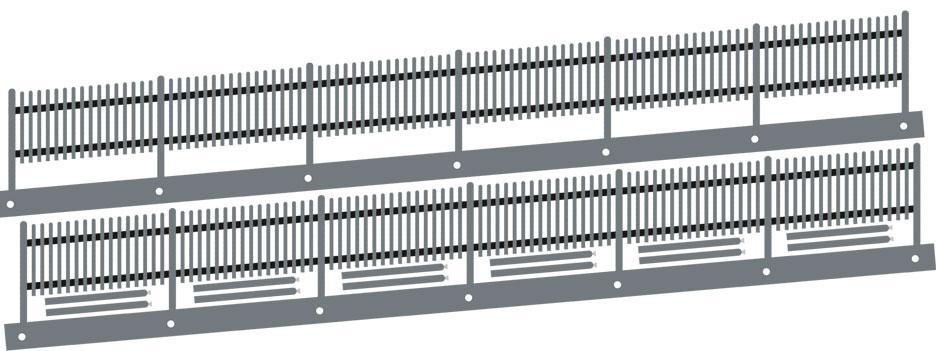 1:87 Lattenschrägzaun, 5 Grad rechts steigend, L=34cm - Weinert 3278  | günstig bestellen bei Weinert-Bauteile