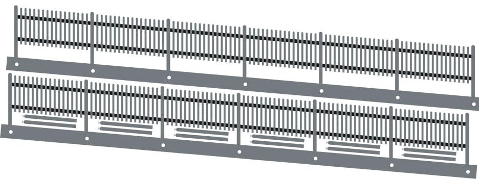 1:87 Lattenschrägzaun, 5 Grad links steigend, L=34cm - Weinert 3279  | günstig bestellen bei Weinert-Bauteile