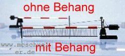 H0 Bahnschranken ohne Behang für 9m Strassenbreite - Weinert 3339  - 1 Paar mit Läutewerk, Bakensatz und Motorantrieb - Bausatz | günstig bestellen bei Weinert-Bauteile