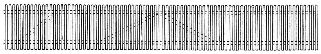 H0 Holzzaun mit 2 Toren, L=65cm, Vorbildhöhe 1,20m, MS-Ätzteil - Weinert 3351  | günstig bestellen bei Weinert-Bauteile