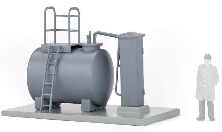 1:220 Dieseltankstelle für Kleindieselloks, Vorbild Dörzbach - Weinert 6866 - Komplettbausatz  | günstig bestellen bei Weinert-Bauteile