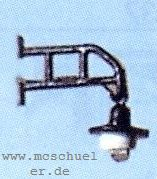 H0 Straßenlatern mit geradem Ausleger, für Gebäude und Telegrafenmasten - Weinert 33801  | günstig bestellen bei Weinert-Bauteile