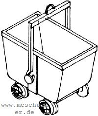 H0 Kohlenhunt, Messingguss - Weinert 3445    günstig bestellen bei Weinert-Bauteile