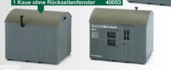 H0 Kaue ohne Rückseitenfenster universell einsetzbar- Weinert 40053  | günstig bestellen bei Weinert-Bauteile