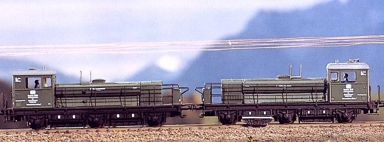 DB Schienenschleifzug 2-teilig - Weinert 4029 - mit NEM-Radsätzen | günstig bestellen bei Weinert-Bauteile
