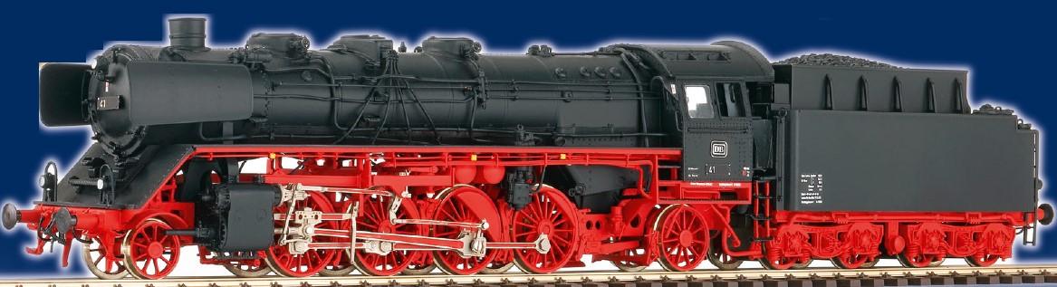 DB Ep.3 BR 41 mit Altbaukessel, Witte-Windleitblechen + Kohletender T34 - Weinert 40463 - Komplettbausatz mit RP25-FINE-Radsätzen | günstig bestellen bei Weinert-Bauteile