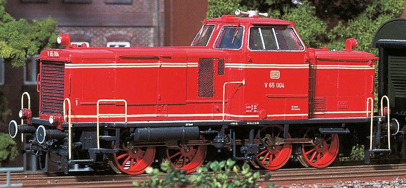 DB V65 Diesellok, Komplettbausatz - Weinert 4086 - mit RP25 Radsätzen + Faulhaber-Motor | günstig bestellen bei Weinert-Bauteile