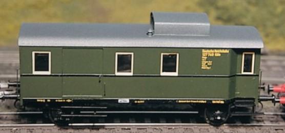 1:87 Güterzug-Begleitwagen Pwgs 36-41 - Weinert 4130 - Komplettbausatz mit RP25 Radsätzen | günstig bestellen bei Weinert-Bauteile