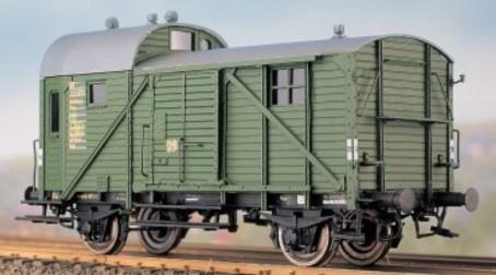 1:87 Güterzug-Begleitwagen PwgPR14 - Weinert 4143  -Komplettbausatz mit NEM-Radsätzen   günstig bestellen bei Weinert-Bauteile