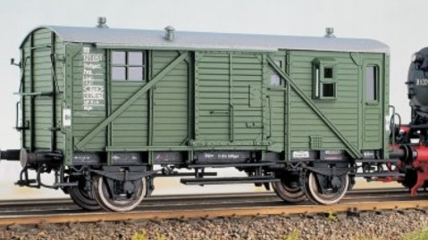 1:87 Güterzug-Begleitwagen PwgPR14 - Weinert 4166 - Komplettbausatz mit NEM-Radsätzen   günstig bestellen bei Weinert-Bauteile
