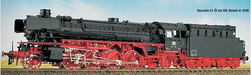 DB BR 41 mit Neubaukessel und Witte-Windleitblechen, Öltender – Weinert 42401 - Komplettbausatz mit RP25-FINE-Radsätzen | günstig bestellen bei Weinert-Bauteile
