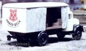 1:87 Getränkewagen-AufbauHaake-Beck - Weinert 4315  | günstig bestellen bei Weinert-Bauteile