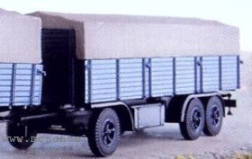 1:87 Anhänger 3-achsig mit hoher Rückwand - Weinert 4336  | günstig bestellen bei Weinert-Bauteile
