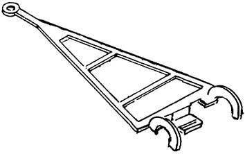 1:87 Deichsel für Wiking-LKW zur direkten Montage an Führungszapfen, 4 St. - Weinert 4352  | günstig bestellen bei Weinert-Bauteile