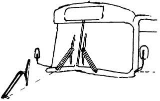 1:87 Doppelarmscheibenwischer und Spiegel für Busse, 6 Stück - Weinert 4364  | günstig bestellen bei Weinert-Bauteile