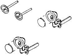 1:87 Zurüstteile fürSattelauflieger mit Haus-zu-Haus-Behälter, 2 Scheinwerfer, 2 Handräder - Weinert 4365  | günstig bestellen bei Weinert-Bauteile