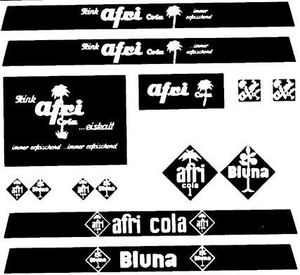 1:87 Beschriftung Afri-Cola und Bluna - Weinert 4380  | günstig bestellen bei Weinert-Bauteile