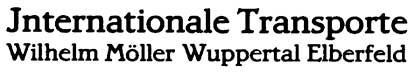 1:87 Beschriftung Internationale Transporte - Weinert 4386  | günstig bestellen bei Weinert-Bauteile