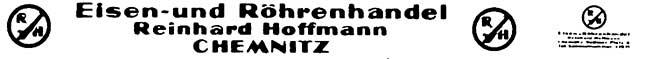 1:87 Beschriftung Stahlhandel Chemnitz- Weinert 4389  | günstig bestellen bei Weinert-Bauteile