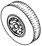 1:87 Radsatz Einfachreifen d=10,5mm, z.B. für Bagger, 2 Stück - Weinert 4398  - Weissmetall | günstig bestellen bei Weinert-Bauteile