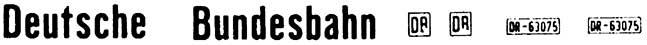 1:87 Beschriftung Deutsche Bundesbahn - Weinert 4401  | günstig bestellen bei Weinert-Bauteile