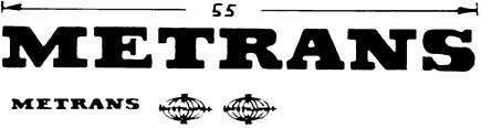 1:87 Beschriftung Metrans orange- Weinert 4413  | günstig bestellen bei Weinert-Bauteile