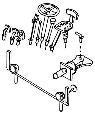 1:87 Lanz Teile,, 1 Satz- Weinert 4427  | günstig bestellen bei Weinert-Bauteile