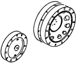 1:87 Lanz Räder, 1 Satz- Weinert 4429  | günstig bestellen bei Weinert-Bauteile