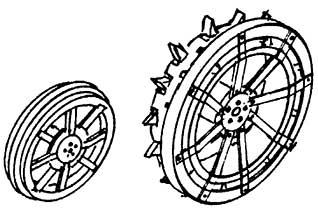 1:87 Lanz Speichenräder, 1 Satz- Weinert 4430  | günstig bestellen bei Weinert-Bauteile