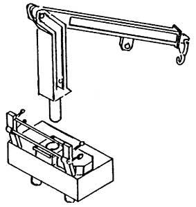 1:87 Steinbockkran beweglich - Weinert 4433  | günstig bestellen bei Weinert-Bauteile