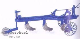1:87 Pflug, Anbau an Traktoren bzw. Einsatz mit Pferd - Weinert 4439  | günstig bestellen bei Weinert-Bauteile