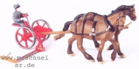1:87 Grasmäher für Pferde und Ochsengespann - Weinert 4440  | günstig bestellen bei Weinert-Bauteile