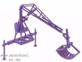 1:87 Hydraulischer Atlas-Lader mit Heu- und Mistgreifer, Bauernlader, Baujahr 1949. - Weinert 4446  | günstig bestellen bei Weinert-Bauteile