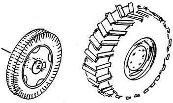 1:87 Breite Hinterräder und Vorderräder für Ackerlanz, 1 Satz - Weinert 4459  | günstig bestellen bei Weinert-Bauteile
