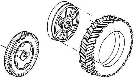 1:87 Schmale Hinterräder mit Speichen und Vorderräder für A Ackerlanz, 1 Satz - Weinert 4460  | günstig bestellen bei Weinert-Bauteile