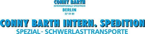 1:87 Beschriftungssatz Conny Barth - Internationale Spedition - Weinert 4466  | günstig bestellen bei Weinert-Bauteile
