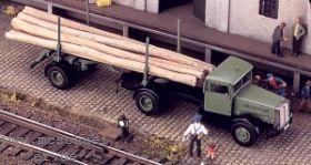 1:87 Faun L7S , Baujahr ab 1949, Langholztransporter- Weinert 4506  | günstig bestellen bei Weinert-Bauteile