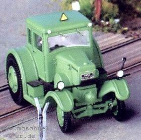 1:87 Lanz Eil-Bulldog, Baujahr 1936, mit Lenkachse und fester Fahrerkabine - Weinert 4508  | günstig bestellen bei Weinert-Bauteile