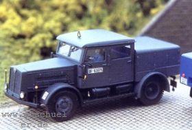 1:87 Faun L7R, Baujahr ab 1939, Straßenzugmaschine mit Beschriftung für DRG, DB, THW - Weinert 4520  | günstig bestellen bei Weinert-Bauteile