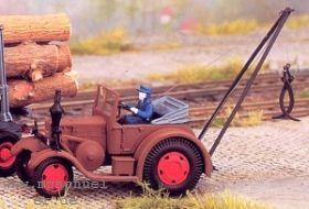 1:87 Lanz Bulldog mit kleinem Kranaufbau zur Holzverladung- Weinert 4521  | günstig bestellen bei Weinert-Bauteile