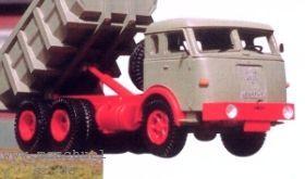 1:87 Henschel-LKW HS3-180, Baujahr 1959 - Weinert 4523  -  THk mit Meiler Mulden-Hinterkipper | günstig bestellen bei Weinert-Bauteile
